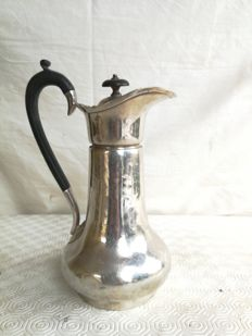 Antique silver plated jug with Bakelite handle - branded Hc&Co - ca. 1900