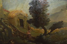 Unknown - Landscape with Figures