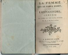 Collection of 10 plays and lyric theatre - 1760 / 1795
