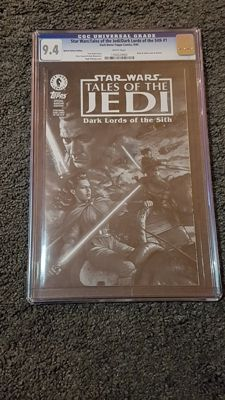 Star Wars Tales of Jedi Dark Lords of the Sith #1 Ashcan Edition CGC 9.4 - (1994)