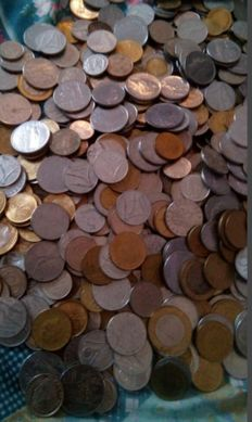 Italy, Republic - Lot of 502 coins