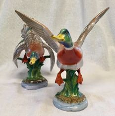 Early Zaccagnini Pair of Ducks - Large pieces