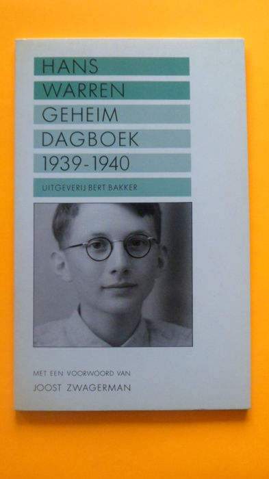 Hans Warren; Geheim Dagboek - 15 volumes - 1939 / 1983