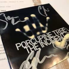 Porcupine Tree, The Incident booklet signed by all four band members including Steven Wilson