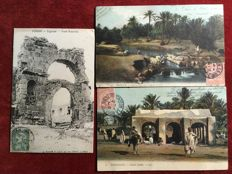 French Tunisia - Lot of  39 postcards period 1900/1920
