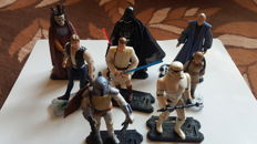 Liquidation of personal collection of star wars , 10 figures