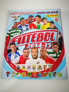 Panini - Portuguese football sticker album 2014/15 - Full Album.
