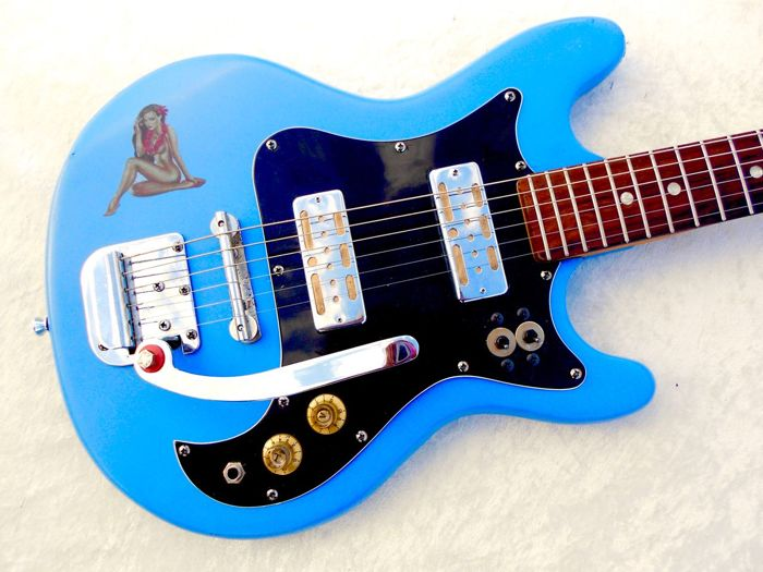 Vintage Surf Beat Guitar Made In Japan Teisco Audition