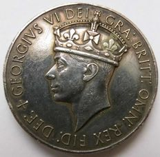 Great Britain, George VI, 1936-1952 - Silver Medal no Date General Service Medal - silver