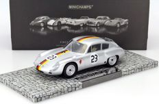 Minichamps - Schaal 1/18 - Porsche 356 B 1600 GS Carrera GTL Abarth #23 2nd GP Solitude 1962