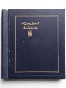 Netherlands Overseas 1870/1943 - Collection in old Kabe preprint album