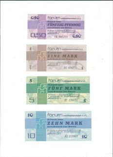 Germany (GDR) - 0.50 - 500 marks, forum check 1979 - pick S FX1/FX7