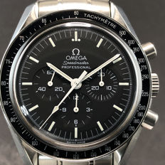 Omega - Speedmaster Professional The First MoonWatch - Ref. 1450022 Cal.1861 - Uomo - 1990-1999
