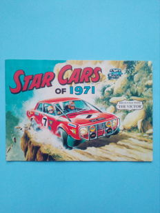 Panini Variant - Star Cars of 1971- Complete album.