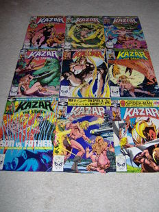 KA-ZAR The Savage - Issues 1-18 - Marvel Comics - x18 sc- (1981/1982)