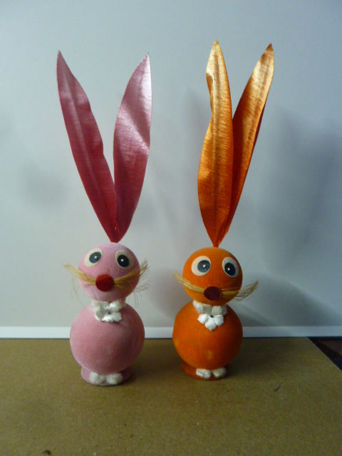 Old set of Easter Bunnies