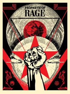 Shepard Fairey (OBEY) - Prophets of Rage - New Day Rising