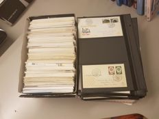 The Netherlands, Suriname and Netherlands Antilles - Batch of over 1,400 FDCs