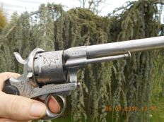 Very large pin fire revolver civilian luxury in calibre (12MM), in great condition
