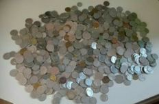 Italy, Republic - Lot of 744 coins