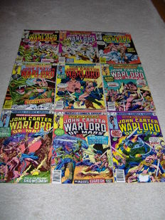 John Carter: Warlord of Mars - Complete Set - Marvel Comics - x28 sc - (1977/1979)