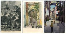 Italy, city and village views 1900-1939; 86 x