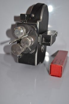 paillard bolex H8 and 3 lenses