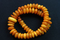 100% natural Antique Amber necklace