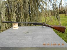 Pin fire shotgun in calibre 16 in used condition
