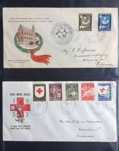 Netherlands - Collection of FDCs between E3 and E144