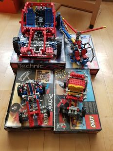Technic - 8865 + 8841 + 8845 + 8844 - Test car + Dune Buggy and more