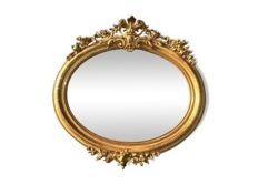 Napoleon III, mirror in wood and stucco gilded with gold leaf - France - 19th century