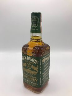 Jack Daniel's Fakeseal green label from '98 signed by Jeff and Jimmy.