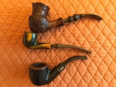 Second part of a collection of 13 pipes from around the world.