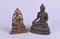 Bronze Buddha images - Thailand - 20th century