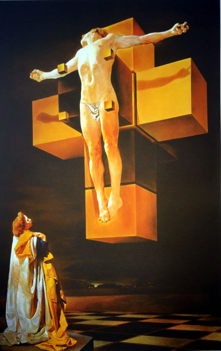 Salvador Dalí (after) - Crucifixion
