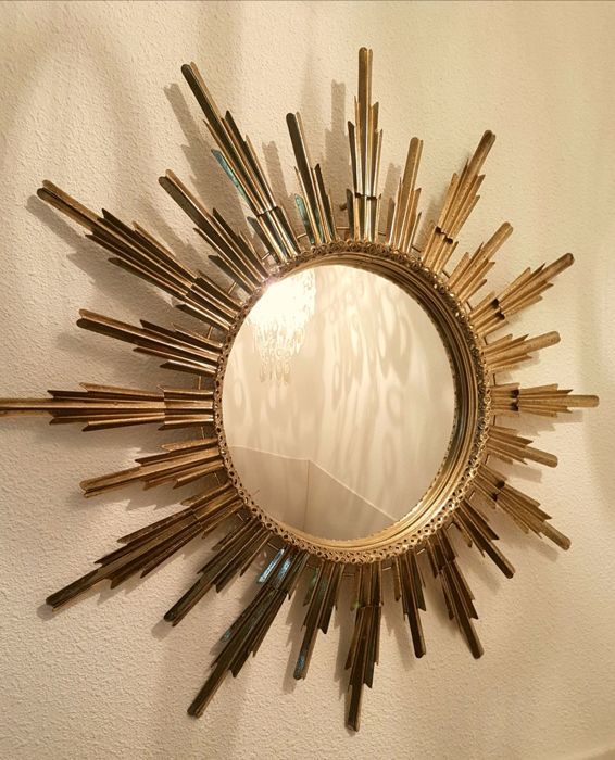 Sunburst mirror - France, 1960s