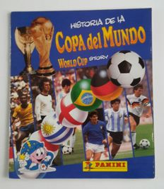 Panini - WC World Cup Story 1990 - Compleet album.