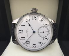 Julius Assmann Glashütte i/Sachsen - Men's marriage watch - ca 1910-1920