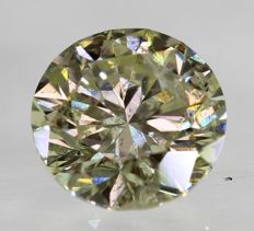 Diamond – 0.46 ct - L / SI1  ** No Reserve **