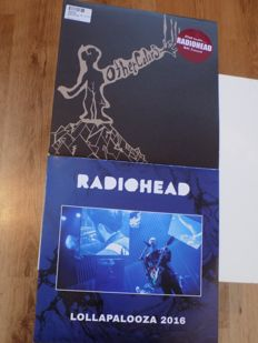 """Radiohead """" Lollapalooza """" 2016 & """" Other Colors """" BBC Sessions vinyl LP""""S."""