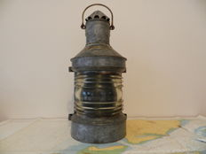 A large vintage ship's Mast light - Netherland - early 20th century