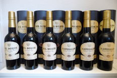 30 year old Sherry : 3x Del Duque & 3x Matusalem - Gonzalez Byass – 6x 0.375 cl