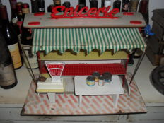 "Old Toy Display ""Epicerie"" - French Manufacture - 1950s"