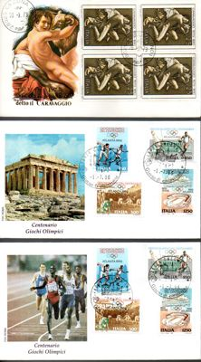 Republic of Italy 1964-1998 - Lot of 209 first day envelopes