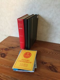 Scandinavia - Collection is 3 stock books, sheets and year sets