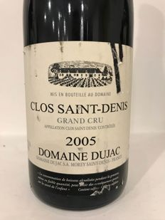 2005 Clos Saint Denis Grand Cru Domaine Dujac x 1 bottle