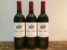 2001 Chateau Montrose, Saint-Estephe Grand Cru Classé - 3 bottles  93 Parker Points