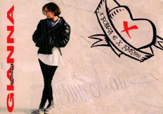 Gianna Nannini > handsigned Promo Card 1993
