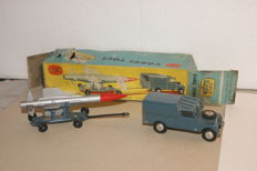 Corgi Toys - 1/46 - 'Thunderbird' Guided Missile on Trolley and R.A.F. Land-Rover no.; GS3